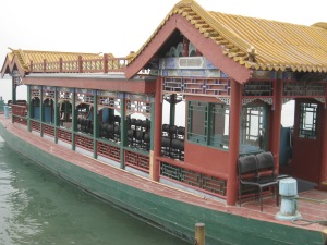 Beijing, Summer Palace, Boat